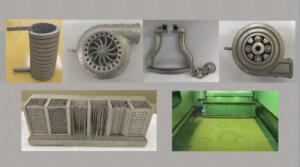 金属3Dプリンター銅以外造形品
