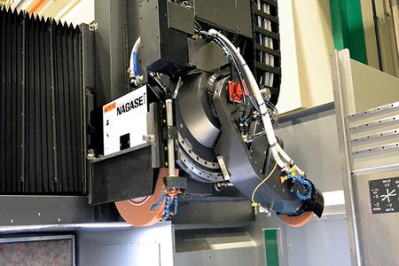 超精密門型成形平面研削盤SGDシリーズ_超精密バーチカルユニット