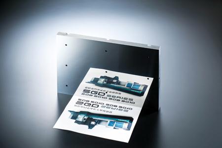 門型平面研削盤による超精密鏡面研削加工