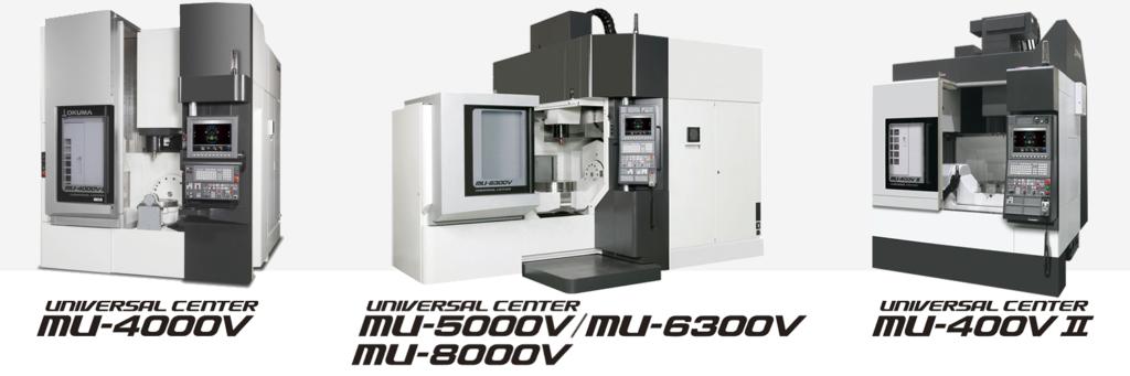 5軸正業立型マシニングセンター オークマ UNIVERSAL-CENTER MU-Vシリーズ